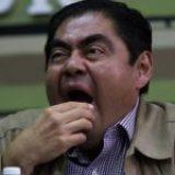 Miguel Barbosa, el gobernador peor evaluado de México