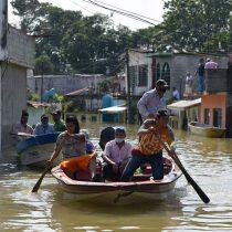 Sólo con movilización popular dejará de inundarse Tabasco