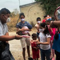 Antorchistas entregan juguetes a niños vulnerables de Temixco