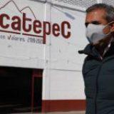 Alcalde de Ecatepec difunde spots en centro de llenado de oxígeno