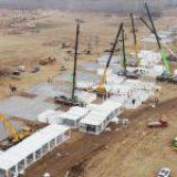 China construye hospital para atención de Covid-19 en 5 días ante aumento de casos