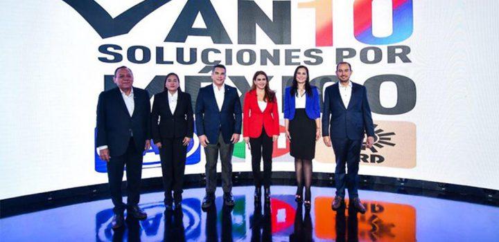 PRI, PAN y PRD proponen agenda legislativa de cara al proceso electoral