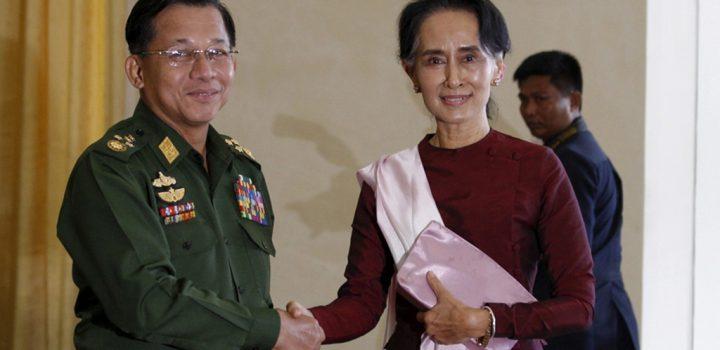 Detienen al presidente de Birmania en medio de temores de un golpe militar