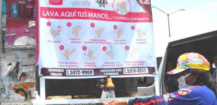 Arranca programa de rellenado de tanques de oxígeno gratuito en Ixtapaluca