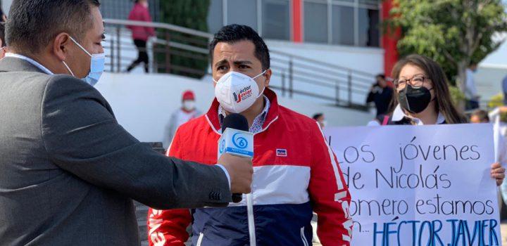 Héctor Javier Álvarez se registra como precandidato a la presidencia municipal de Nicolás Romero