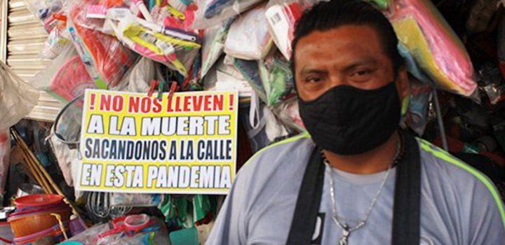 Desaprueban comerciantes de Puebla demolición de mercado