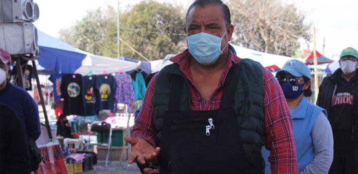 Morena en Puebla ataca a ambulantes para favorecer grandes negocios