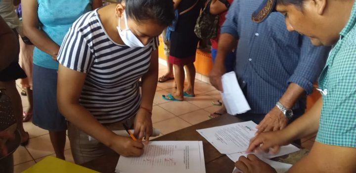 Recaban firmas para solicitar Plan Hídrico en Tabasco