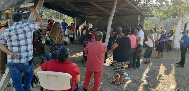 Piden Antorchistas al Gobierno de Sinaloa atender necesidad de vivienda de 600 familias