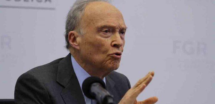 ONGs piden destituir a Gertz Manero de la FGR
