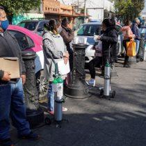 Crece desabasto de tanques de oxígeno en México