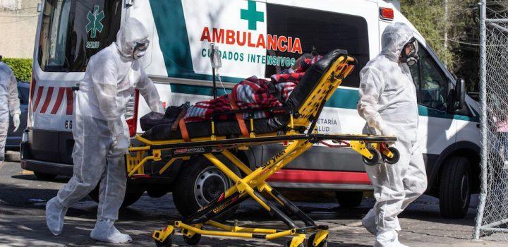 México ya es el tercer país con más muertes por Covid