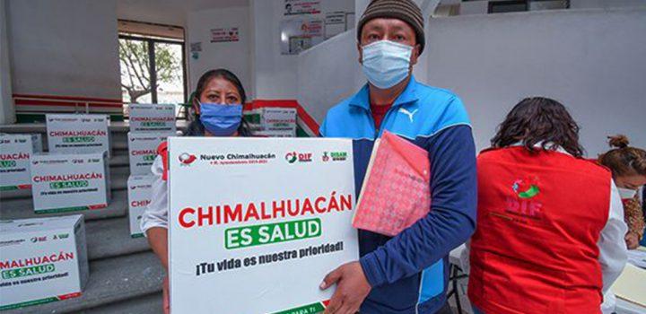 Continúa entrega de concentradores de oxígeno a pacientes Covid en Chimalhuacán