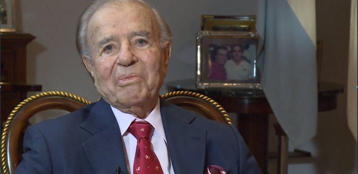 Muere el expresidente argentino Carlos Saúl Menem