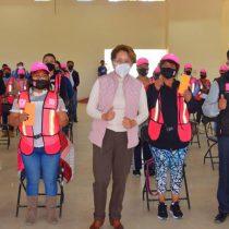 Mil familias han sido beneficiadas con empleo temporal en Ixtapaluca