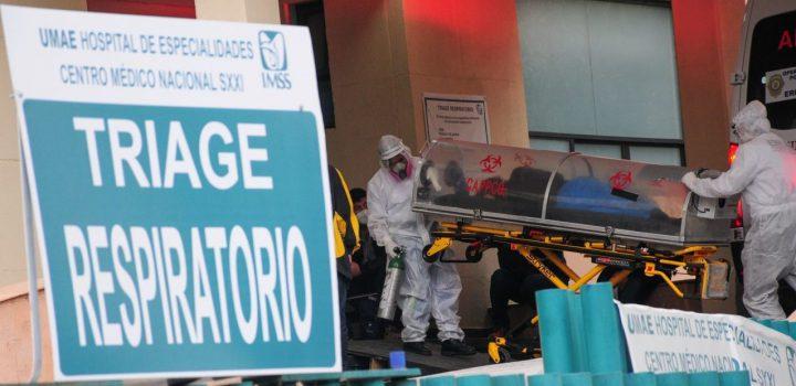 México acumula 159 mil 100 muertes por Covid-19