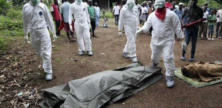 OMS alerta a seis países africanos por brotes de ébola