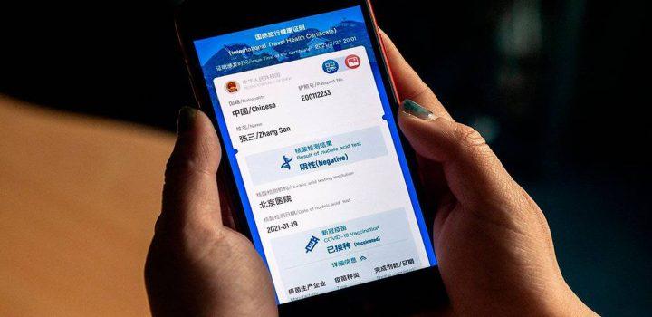 China lanza su pasaporte sanitario
