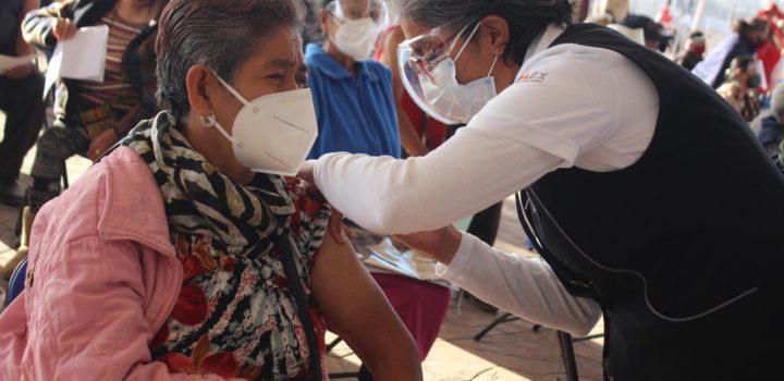 En Chimalhuacán aplican 49% de las vacunas programadas
