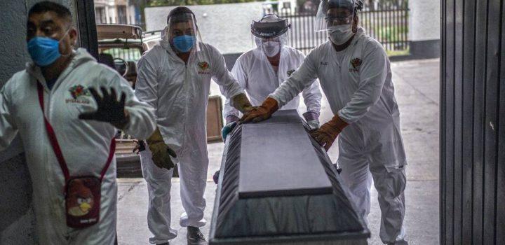 México habría superado en muertes Covid a Brasil con 321 mil decesos