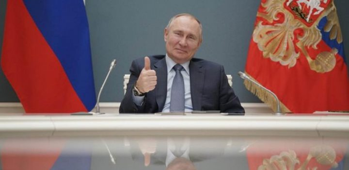 """Putin """"desea buena salud"""" a Biden luego de que lo llamara """"asesino"""""""