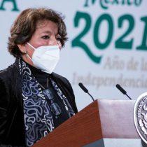 Delfina Gómez pide reducir personal en la SEP por austeridad