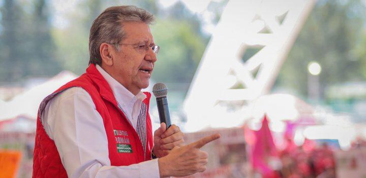 Tolentino Román encabeza las encuestas por la alcaldía de Chimalhuacán