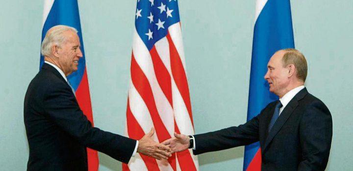 Biden conversó vía telefónica con Putin; propuso encuentro presencial en tercer país