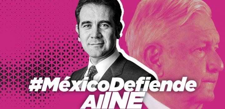 #MéxicoDefiendeAlINE con 100 mil tuits ante guerra de exterminio de AMLO y Morena