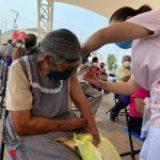 Día 2 de Vacunación en Chimalhuacán: alegría, orden y optimismo