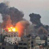 Suman 71 muertos por bombardeos entre Israel y Hamas en Gaza