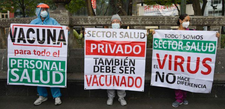 Médicos privados obtienen amparo para recibir vacuna contra Covid-19