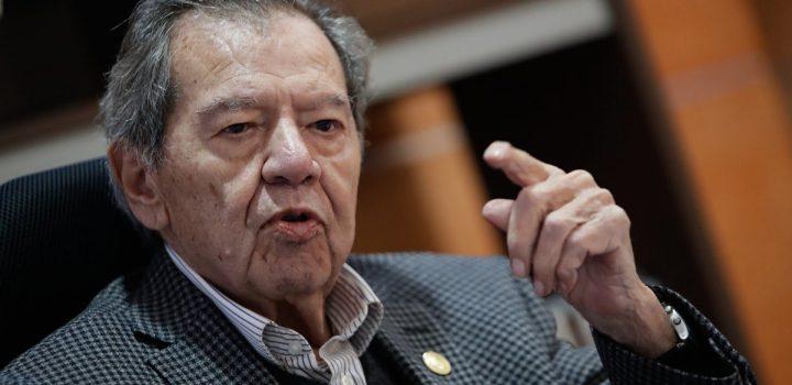 AMLO está mareado de poder y es autoritario: Muñoz Ledo