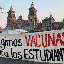 Sí a las clases, pero vacunados: FNERRR