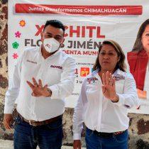 """Los plagios y contradicciones de Xóchitl Flores, la """"candidata"""" de morena en Chimalhuacán"""
