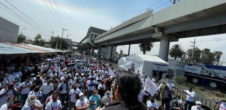 Con marcha, familiares exigen justicia para víctimas de L12 del metro