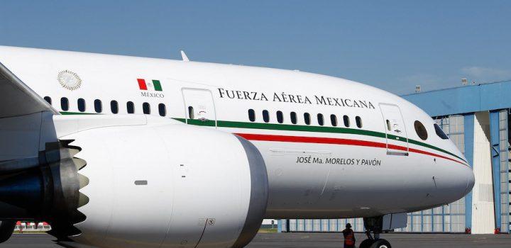 México pagará 2.4 mdd a la ONU para hallar intermediario que venda el avión presidencial