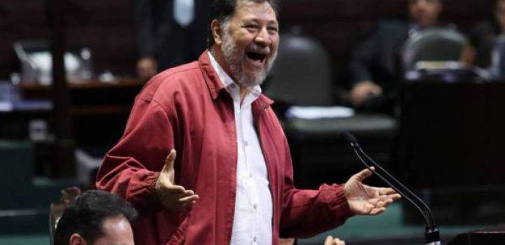 """Noroña se destapa y buscará """"ser el relevo del compañero presidente"""" en 2024"""