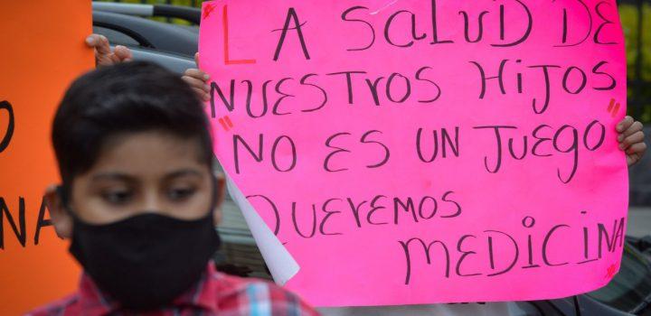 'No quieren desestabilizar, quieren vivir': padres de niños con cáncer