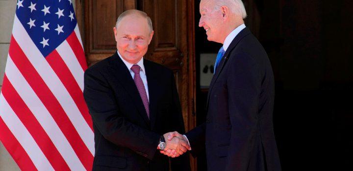 Concluye cumbre entre Biden y Putin; acuerdan el regreso de sus embajadores a EU y Rusia