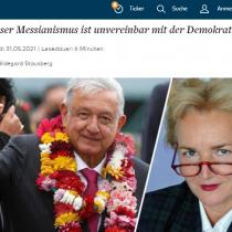 """Acusa diario alemán Die Welt a AMLO de tener """"comprensión autoritaria del Estado"""""""