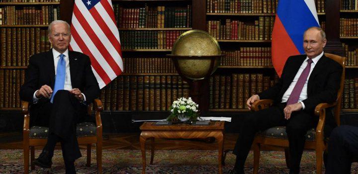 Joe Biden y Vladimir Putin se reúnen en Ginebra ante tensiones diplomáticas