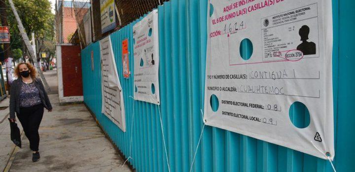 INE estima que 300 casillas no podrán instalarse en el país por 'falta de condiciones'