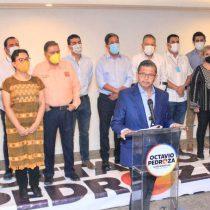 Octavio Pedroza rechaza resultados del PREP en San Luis Potosí