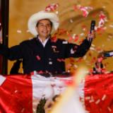 Pedro Castillo lidera la elección de Perú con el 100% de actas procesadas