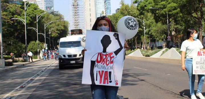 Estudiantes se manifestarán en todo México: exigen vacunación inmediata
