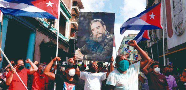 Ataque de EE.UU contra la revolución cubana.