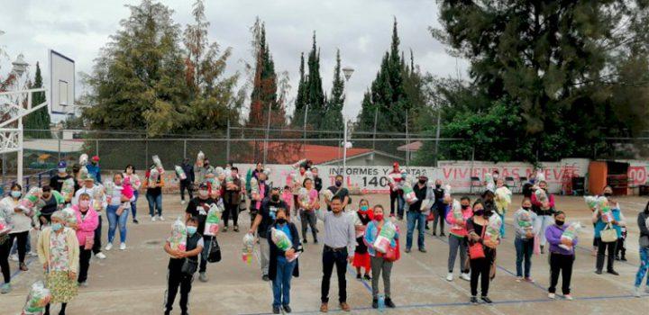 Antorchistas de Aguascalientes reciben apoyo alimentario