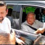 Protestas y fuertes dispositivos de seguridad en gira de AMLO en Guerrero
