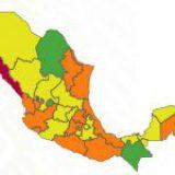 CDMX, Edomex y otros 8 estados retroceden a semáforo naranja ante la tercera ola de Covid
